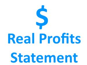 Real Profits Statement